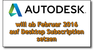Autodesk Desktop Subscription